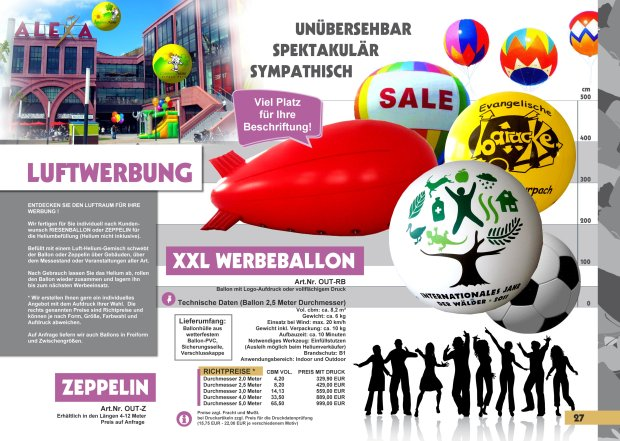 Seite 27 Ballons rechts